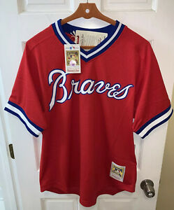 Mitchell & Ness Atlanta Braves Dale Murphy # 3 Jersey Batting Practice NWT $90