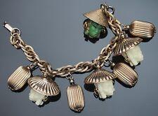 SELRO SELINI Vintage Bracelet Charms Princess Unsigned