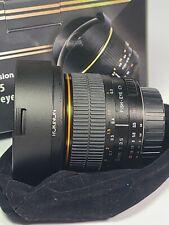 New listing Rokinon 8mm f/3.5 Aspherical Fisheye Lens For Nikon Aps-C
