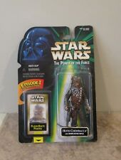 STAR WARS Hoth Chewbacca with Bowcaster Rifle - POTF 1998- Flashback Photo - NIP