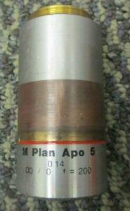 Mitutoyo 0.14 378-802-2 M Plan Apo 5 Microscope