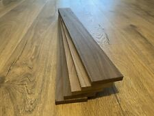 Walnut Timber Offcuts 5 Pieces @ 500mm x 60mm x 10mm (American Black) Defects