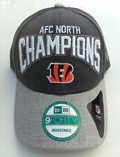 91b0e28b371 Cincinnati Bengals Era 2015 AFC North Division Champions 9forty Hat
