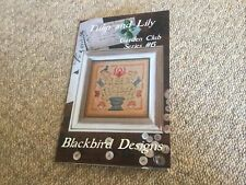 Tulip And Lily Cross Stitch Chart By Blackbird Designs
