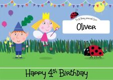 personalised birthday card Ben And Holly's Little Kingdom any name/age/relation
