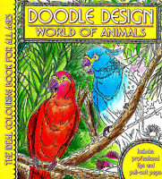 World Of Animals (Adult Colouring Book) (Doodle Design) (New Mindfulness P/B)