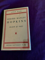 Gerard Manley Hopkins Priest and Poet by John Pick 1942 lst ed