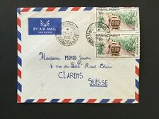 MADAGASCAR 1966 AIR MAIL COVER TO SWITZERLAND