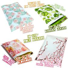 100 Poly Mailers 10x13 Mix Design Variety Pack (25 ea)