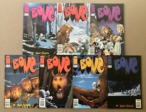 Bone # 1 2 3 4 5 7 8 ALL Newsstand Variants Jeff Smith 1st Print Image Indie