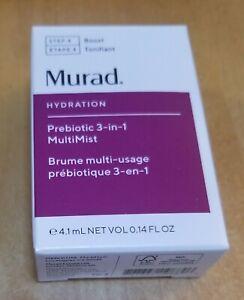 MURAD Prebiotic 3-In-1 MultiMist Step 4 Boost Travel Size 4.1ml / 0.14oz New!