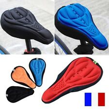 Housse pour Selle Vélo VTT Confortable 3D Doux Protection Confort Gel Silicone