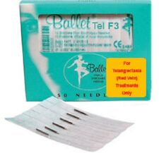 Ballet Electrolysis Needles RED VEIN F3 -50PK