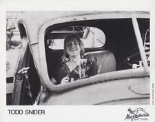 Todd Snider- Music Memorabilia Photo