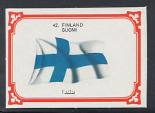 Monty Gum 1980 Flags Cards - Card No 42 - Finland (T617)