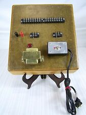 Transformer Switch Board Amp Hand Crafted James D. Burneff