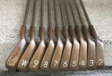 PING EYE 2 BERYLLIUM COPPER BLACK DOT IRON SET 2-PW&SW Reconditioned