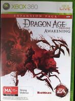 Dragon Age Origins Awakening Xbox 360 PAL Version Rated MA15+
