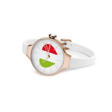 Orologio HOOPS mod. CHERIE ITALY ref 2483LG50 Donna acciaio rosè bandiera cuore