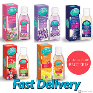 Floella Concentrated Disinfectant Antibacterial 4 in 1 Action 150ml Makes 10L