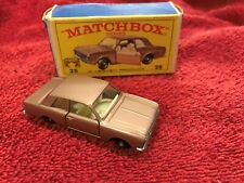 Matchbox by Lesney #25 FORD CORTINA with Box - 1/76 OO Scale