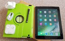 *GRADE-A*Apple iPad 4th Gen- 32GB,Wi-Fi+ 4G/3G (Unlocked), 9.7in- Black+Extra