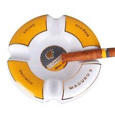 Cohiba Circle Ceramic Ashtray 4 Cigar Holder - White GA-O21