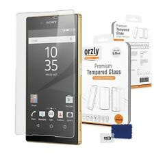 Orzly® 0.24mm Tempered Glass Screen Protector for Sony Xperia Z5 (WATCH VIDEO)