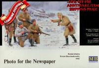 Master Box 3529 WWII Russian Infantry, Korsun-Shevchenkovskiy 1944, kit 1/35