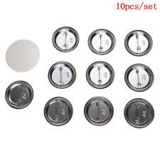 10 Pcs/Set 44Mm Diy Badge Button Cover Parts Supplies For Pro Maker Machine H_vi