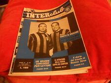 CALCIO  RIVISTA    INTER  FOOTBALL  CLUB     NR  10    OTTOBRE   1965