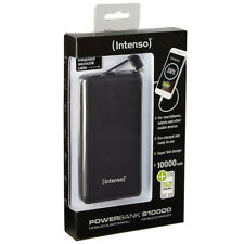 kQ Intenso Powerbank Slim S10000 10000 mAh schwarz Ladestation mit micro USB