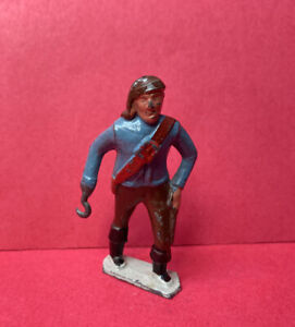 JOHILLCO PIRATE WITH HOOK LEAD TOY SOLDIER FIGURE VINTAGE JOHN HILL & CO