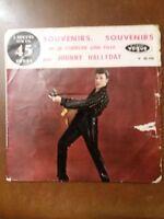 Vinyle 45 tours de Johnny Hallyday Souvenirs, souvenirs Vogue 45-741
