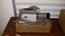 "Vintage ARGUS 200 4"" Slide Projector with Case Focus f=3.5"