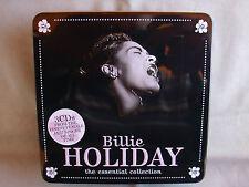 Billie Holiday- The Essential Collection- 3-CD-Metallbox- 60 Titel WIE NEU
