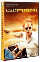 3 DVD CSI Miami - Season 8.1 Episoden 01-12 DVD Film Cane und sein Team TV Serie