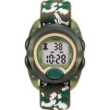 Timex T71912, Kid's Digital Camouflage Watch, Alarm, Indiglo, T719129J
