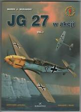 JG 27 in action vol.I + Free Decals. English !!!