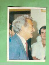 1985 SCANLENS CRICKET STICKER #125  BOB HAWKE & CLIVE LLOYD