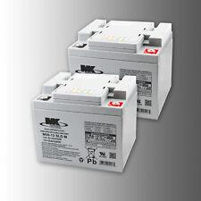 2 Stück MK Battery M50-12 SLD M 12V 50Ah (C20) AGM Antriebsbatterie