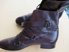 Herren Schuhe Louis Vuitton, Halbstiefel, echt Leder, Gr. 41,5 dunkelbraun