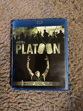 Platoon (Blu-ray Disc, 2011) Tom Berenger,William Dafoe, Charlie Sheen Like New!