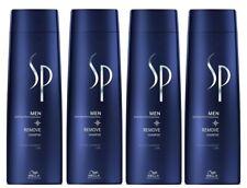 4x Wella Professionals SP Men Remove Shampoo 250 ml