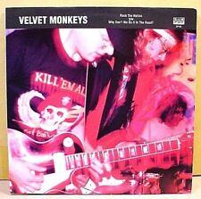"Sub Pop SP102, Club #28 - VELVET MONKEYS Rock The Nation- '91 NM 7""  Black vinyl"