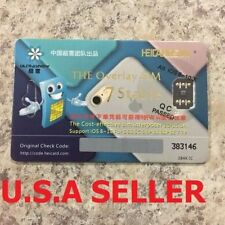 Heicard sim unlock for iPhone 7 plus 7 6S 6 5S 5 5c LTE iOS 10 R SIM GPP Code