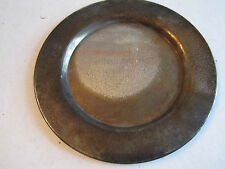 "1971 LABOR DAY HANDBALL TOURNAMENT SECOND PLACE PLATE - 6"" - SEE PICS -TUB MMM"