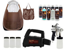 MAXIMIST SPRAYMATE PRO SUNLESS HVLP W BROWN TENT AND FREE TAMPA BAY TAN SPRAY