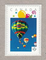 HOT AIR BALLOON = Picture Postage stamp MNH Canada 2016 [p16/02sn8]