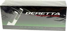 5 Beretta Cigarette Filter Tubes Menthol King Cigarette 200ct per box RYO/MYOMen